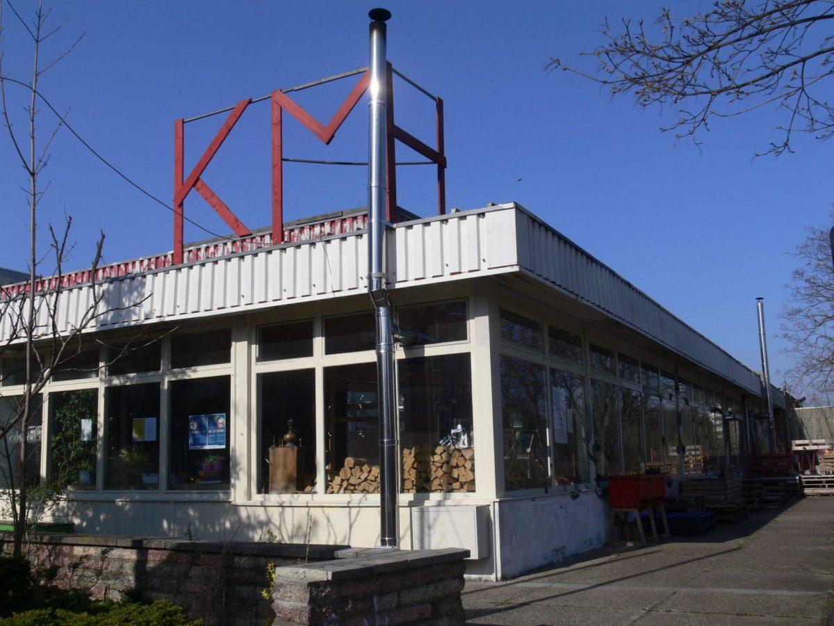 Die KulturMarktHalle in der Hanns-Eisler-Straße